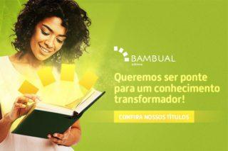 """Banner """"Queremos ser ponte para um conhecimento transformador""""."""